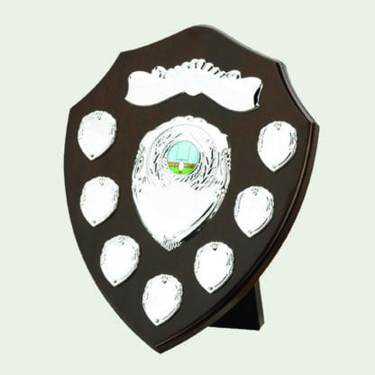11 Inch Traditional Dark Wood Annual Shields
