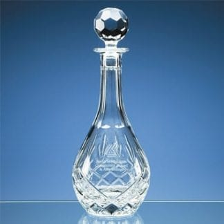 Blenheim Lead Crystal Wine Decanter