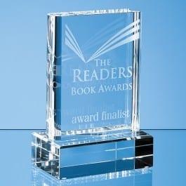 book glass award