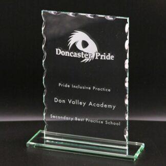 Cut Oblong Glass Award MC17/2