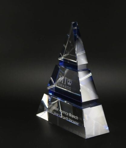 Crystal Luxor Triangle Award