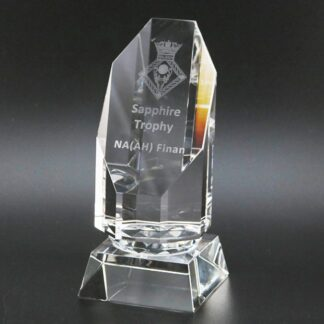 Emerald Glass Trophy MC11/6