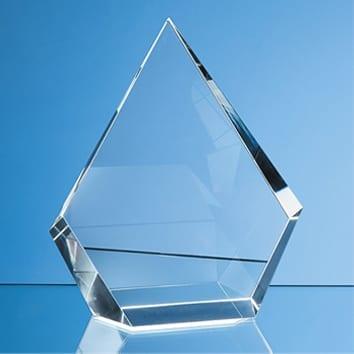 Facet Diamond Crystal Glass Award
