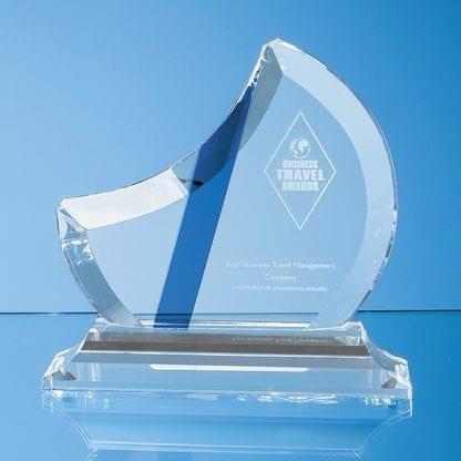 half moon blue stripe award