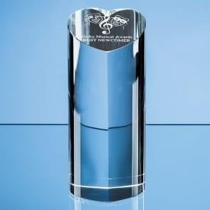 Heart Column glass award