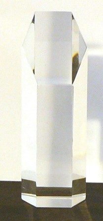 Hexagonal Column Trophy