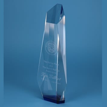 Inspire Glass Trophy