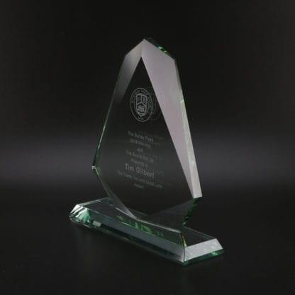 Jade Arrow Glass Award