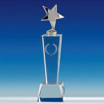 Star glass award