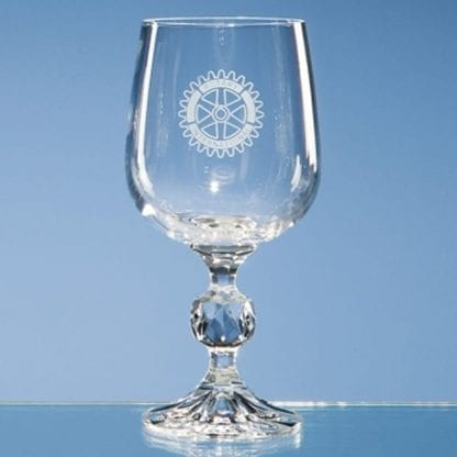 Engraved Claudia Wine Glass