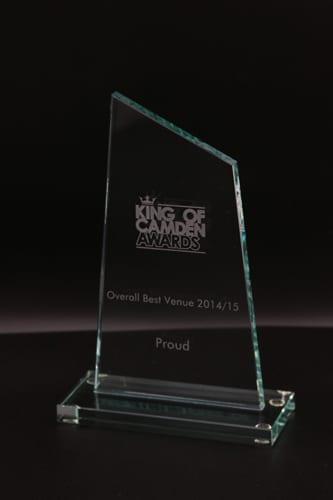 Obelisk Glass Award