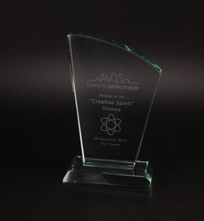 Ruby Fin Glass Award