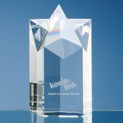 Star Column Glass Award