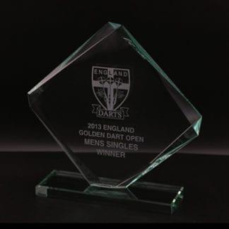 Skye cube jade glass award