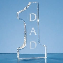 number one glass award