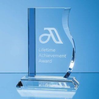 Optical Crystal Blueline Wave Award