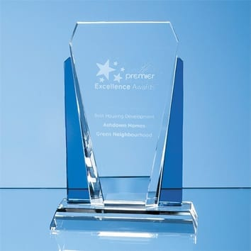 Pharaoh Crystal Glass Award
