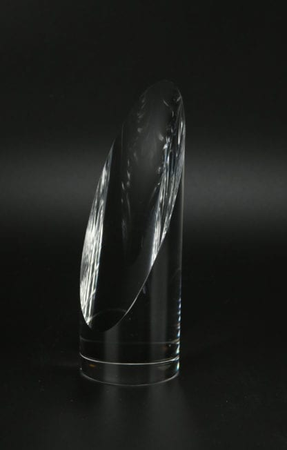 Round Sliced Column Trophy