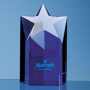 Sapphire Blue Star Column Award