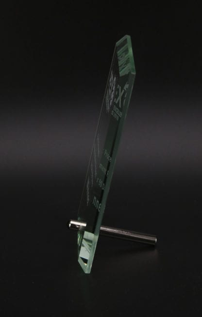 Oblong Jade Glass Award