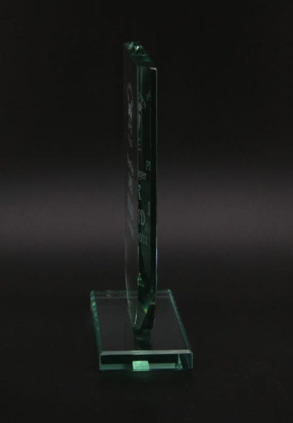 U-Shaped Glass Award