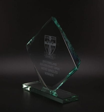Skye Cube Jade Glass Award