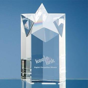 Column Star Glass Award