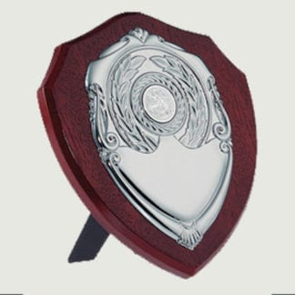 Traditional dark wood replica sheild