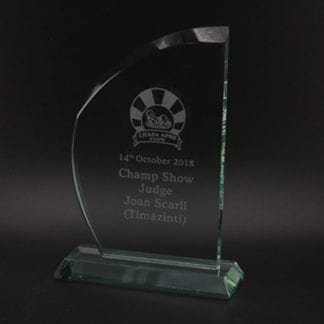 Impulse glass award