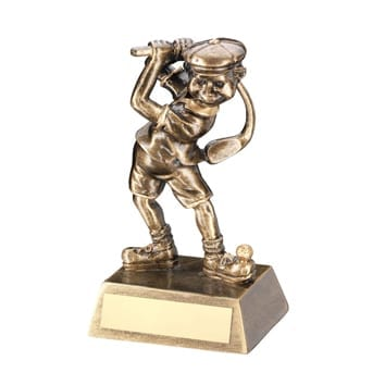 Male Golf Character Trophy