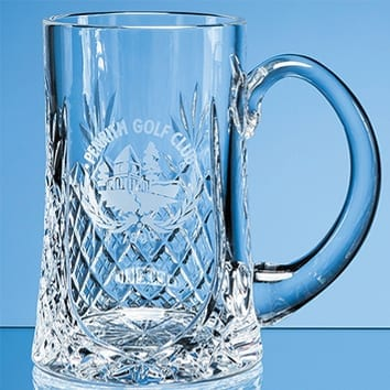Tall Straight Glass Tankard
