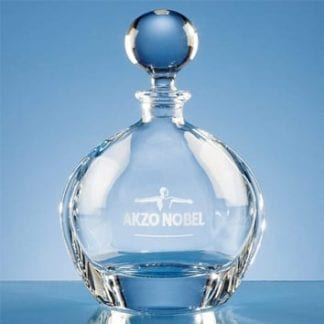 Crystalite Round Decanter