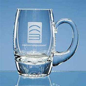 Plain Barrel Glass Tankard