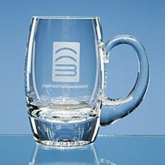 Barrel Glass Tankard